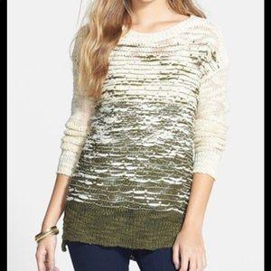 Sun & Shadow ombré sweater